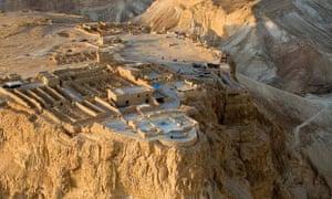 The Masada fortress