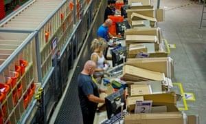 Amazon warehouse Milton Keynes