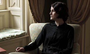 Michelle Dockery as Lady Mary in the fourth series of Downton Abbey.