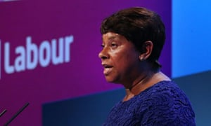 Doreen Lawrence adresses delegates at the Labour party conference