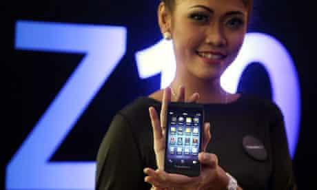 BlackBerry Z10 launch, 2013