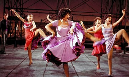 Rita Moreno in the 1961 film version of West Side Story. Composer Leonard Bernstein had to be persua
