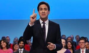 Labour Leader Ed Miliband gives his keynote speech at the Labour party conference