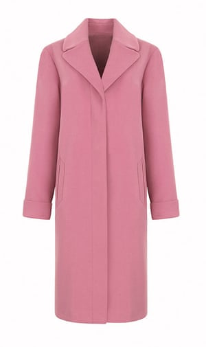 Marks & Spencer pink coat: fashion buy of the day   Fashion   The ...