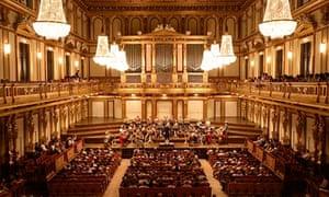 Musikverein concert hall in Vienna