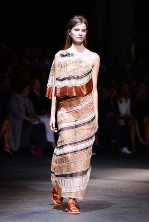 Givenchy: Runway - Paris Fashion Week Womenswear Spring/Summer 2014