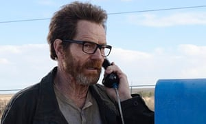 'Should be one hell of a story' … Walter White sets the wheels in motion one last time.
