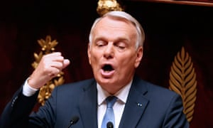 French prime minister, Jean-Marc Ayrault