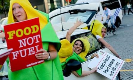 Biofuels protets
