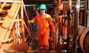 George Osborne on the Montrose Platform