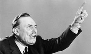 Conservative MP Enoch Powell