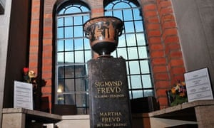 Urn containing Sigmund Freud's ashes