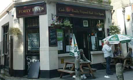 the Forty Fives pub, a Punch Taverns pub