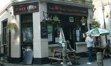 the Forty Fives pub, a Punch Taverns pub