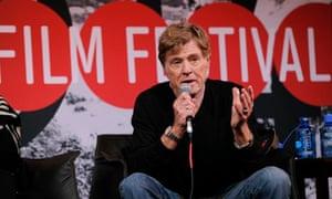 Robert Redford at the 2014 Sundance film festival