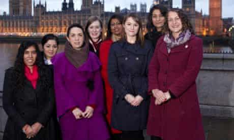 Fabian Women's Network scheme members Unsa Chaudri, Baljit Panesar, Ivana Baltoletti, Felicity Slate