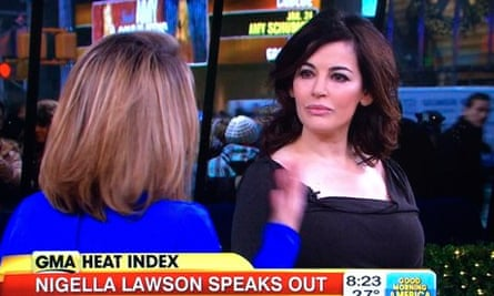 Nigella Lawson On Good Morning America