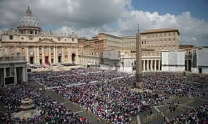 St.Peter's square at the Vatican