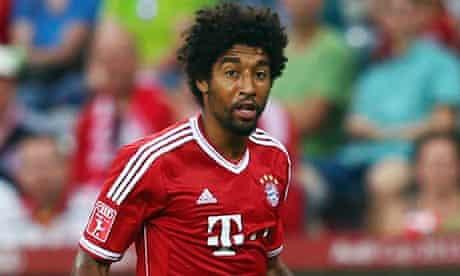 Bayern Munich's Dante in action