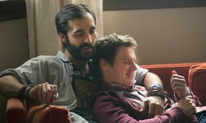 Frankie Alvarez and Jonathon Groff in HBO's new show Looking