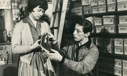 Rita Tushingham and Murray Melvin in Tony Richardson's film of A Taste of Honey.