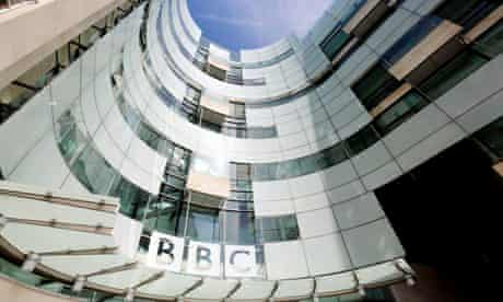 The new BBC building Portland Place