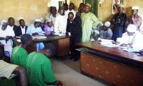 The courtroom in Bauchi