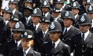 Police officer numbers
