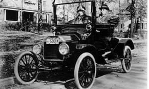 Model T Ford in the United States in 1914