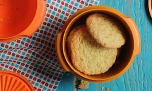 Cook – Ruby Tandoh's orange and lemon coconut biscuits.