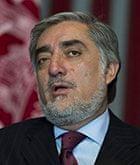 Afghanistan elections: Abdullah Abdullah