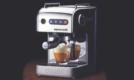 A Dualit coffee machine … a sign of ostentatious wealth?