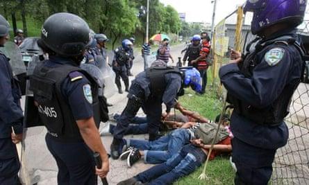Honduras: peasant protests