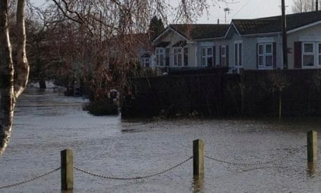 Flooded Dorset Residents Wait For Waters To Recede Assess Damage