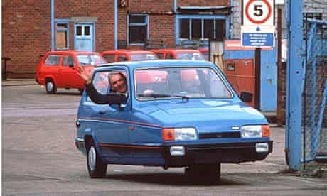 RELIANT ROBIN CAR - 1990