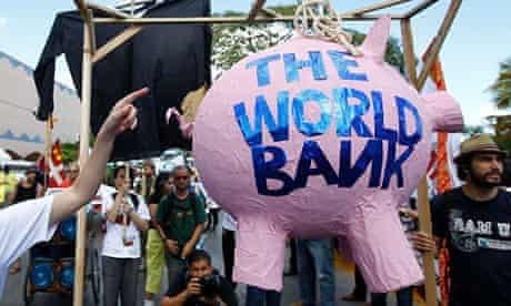 World Bank protest UN climate conference in Cancun