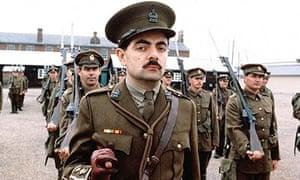 Rowan Atkinson in Blackadder Goes Forth