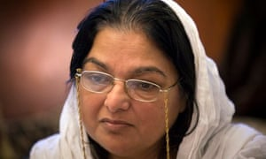 Fatima Khan, mother of the doctor who died in Syria. Photograph: Graham Turner.