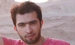Iranian blogger Amir Sedghpour