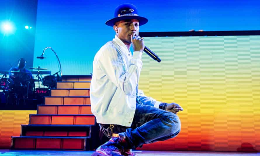 Pharrell Williams And Foxes Perform At O2 Arena In London
