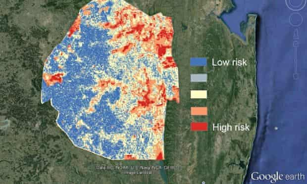 malaria maps