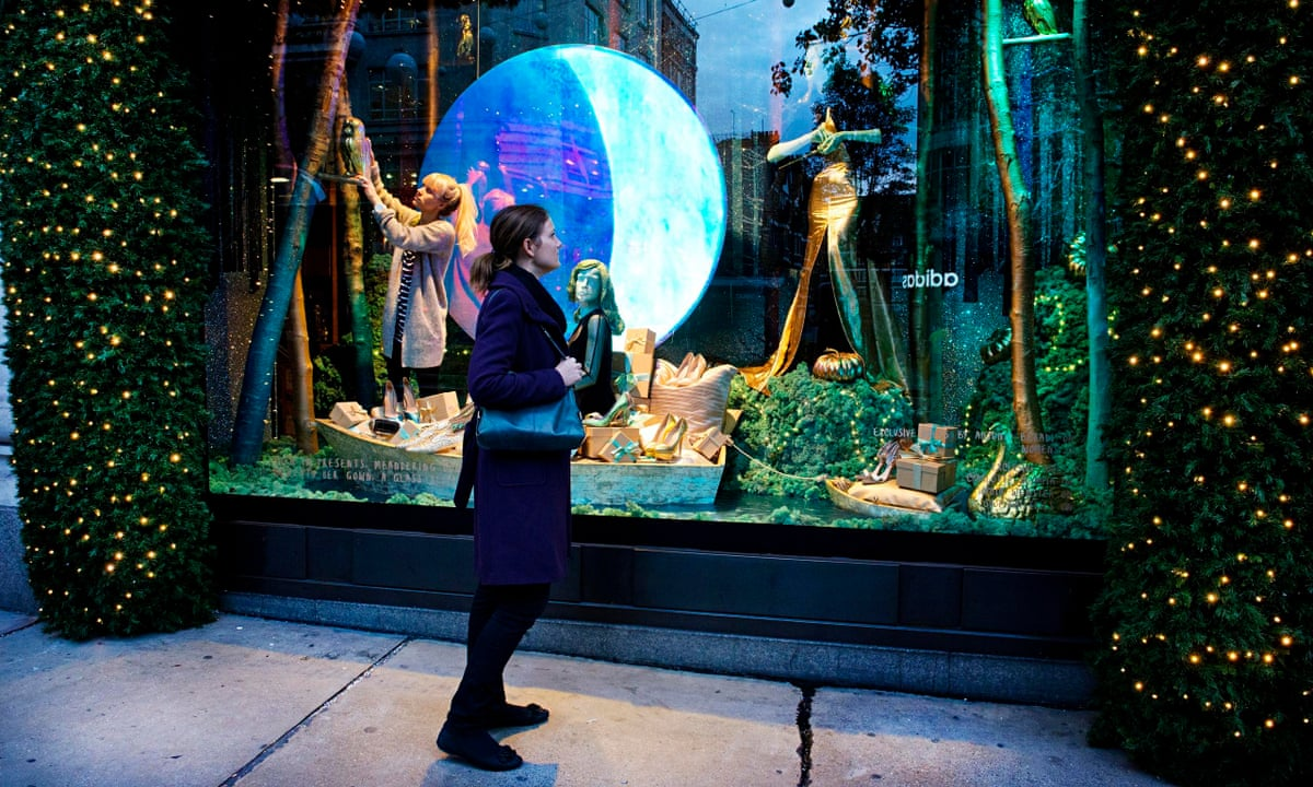 Selfridges christmas window wonderland conjures magic of for Window wonderland