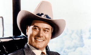 Machieavellian Dallas oilman JR Ewing, played by Larry Hagman