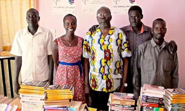 Leaves Juba bookshop