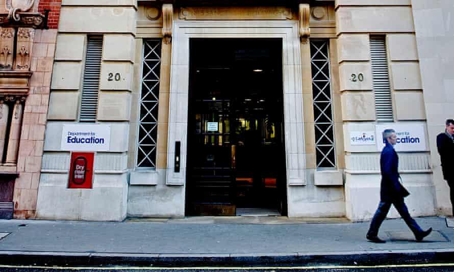 Department for Education front door