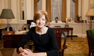 Fiona Woolf, lord mayor of London, in her office