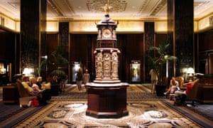 Hotel Waldorf Astoria, New York City, USA. Image shot 2008. Exact date unknown.