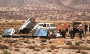 SpaceShip Two's end drags dream of cheap space flight to Earth in