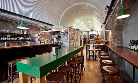 Restaurant: 40 Maltby Street