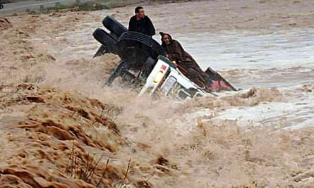 Drivers and truck stranded Morocco